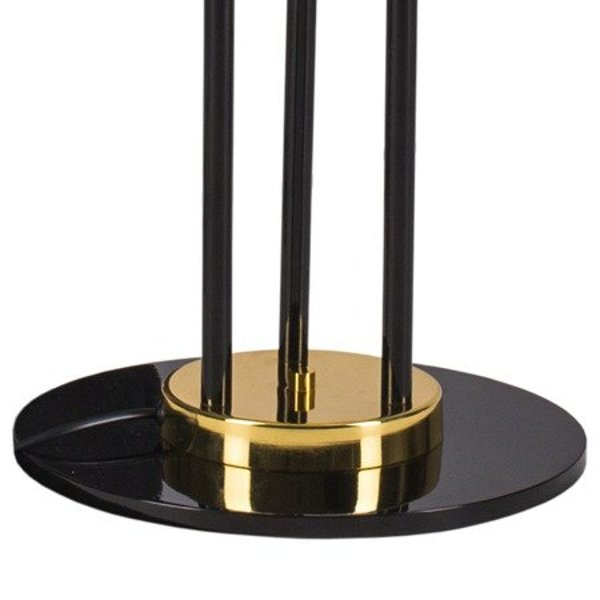 Floor lamp GOLDEN PIPE-3 black & gold 180 cm