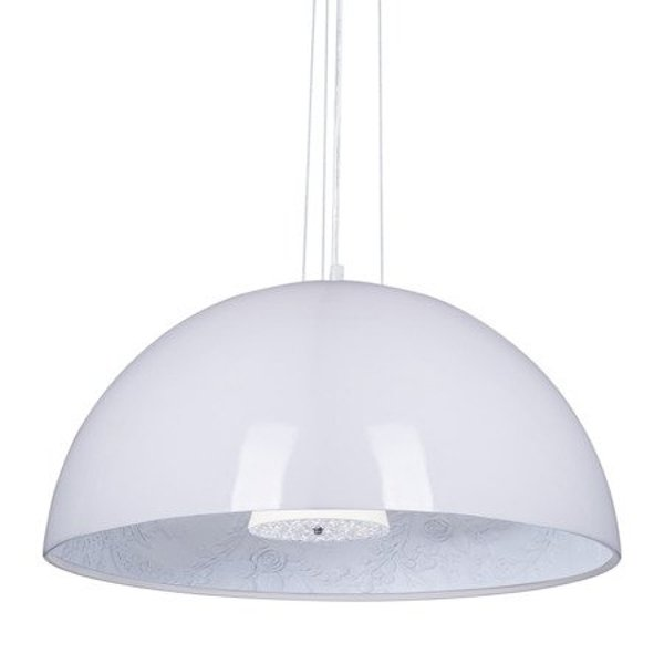 Lamp FROZEN GARDEN white shiny 60 cm
