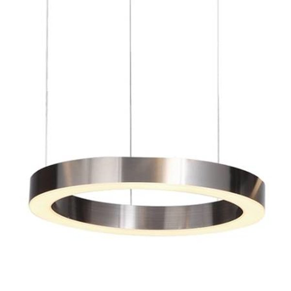 Pendant lamp CIRCLE 40 LED brushed nickel