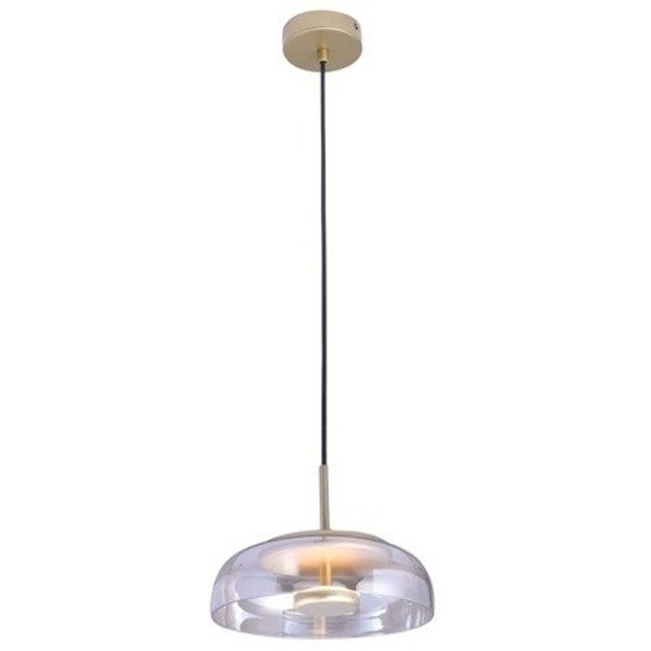 Pendant lamp DISCO LED gold