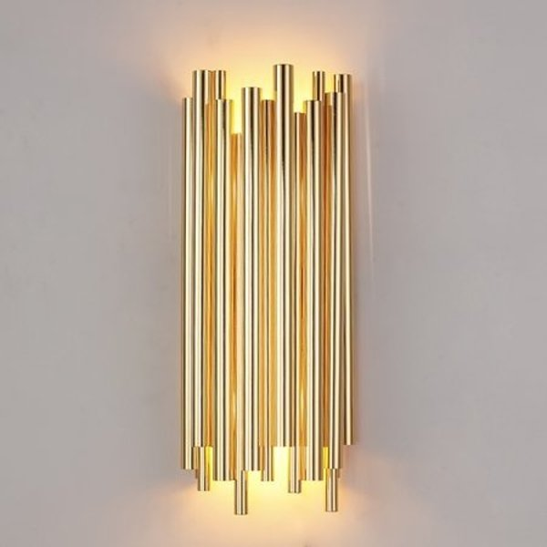 Wall lamp TUBO gold 50 cm