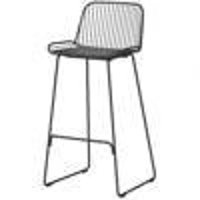 Bar stool IRON BAR black