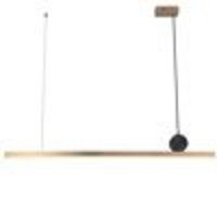 LED lamp BOOGIE brushed brass 88 cm