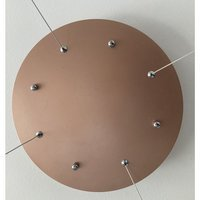 LED lamp CHIC BOTANIC XL - copper 150 cm