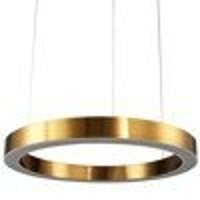 Pendant lamp CIRCLE 120 LED brass